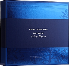 Parfémy, Parfumerie, kosmetika Angel Schlesser Eau Fraiche Citrus Marino - Sada (edt/100ml+sh/gel/150ml)