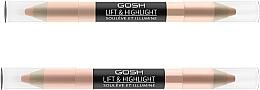 Parfémy, Parfumerie, kosmetika Rozjasňovač - Gosh Lift & Highlight