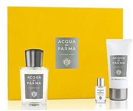 Parfémy, Parfumerie, kosmetika Acqua Di Parma Colonia Pura - Sada (edc/100ml + edc/5ml + sh/gel/50ml)