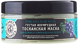 Parfémy, Parfumerie, kosmetika Maska na suché a poškozené vlasy Toscana - Planeta Organica Toscana Hair Mask