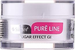 Parfémy, Parfumerie, kosmetika Gel na nehty (bílý) - Silcare Pure Line Sugar Effect