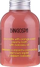 Parfémy, Parfumerie, kosmetika Krémová koupel Čokoláda a pomeranč - BingoSpa