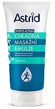 Parfémy, Parfumerie, kosmetika Chladivá masážní emulze - Astrid Sports Action Cooling Massage Cream