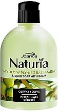 Parfémy, Parfumerie, kosmetika Tekuté mýdlo Oliva, flip-top - Joanna Naturia Olive Liquid Soap