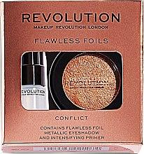 Parfémy, Parfumerie, kosmetika Sada - Makeup Revolution Flawless Foils (eyeshadow/2g + primer/2ml)