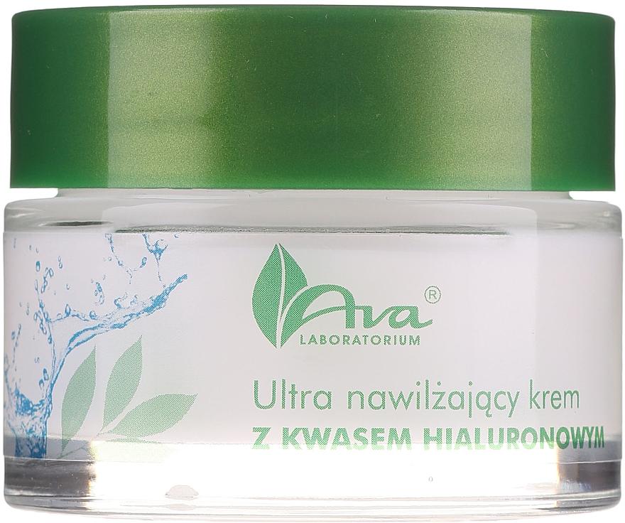 Ultra hydratační krém krém s kyselinou hyaluronovou - AVA Laboratorium Ultra Moisturizing Hyaluronic Cream