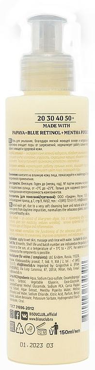 Čisticí gel Čištění a svěžest - Bisou Matting Bio Facial Wash Gel — foto N2