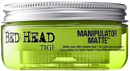 Parfémy, Parfumerie, kosmetika Matující vosk extra silné fixace - Tigi Manipulator Matte
