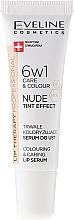Parfémy, Parfumerie, kosmetika Intenzivní sérum na rty 6v1 - Eveline Cosmetics Lip Therapy Proffesional Tint