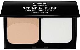 Parfémy, Parfumerie, kosmetika Kompaktní dvojitý pudr - NYX Professional Makeup Define Refine Powder Foundation