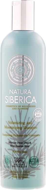"""Šampon pro suché vlasy """"Objem a hydratace"""" - Natura Siberica — foto N1"""