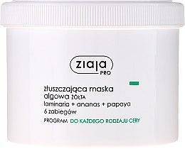Parfémy, Parfumerie, kosmetika Exfoliační pleťová maska s mořskými řasami - Ziaja Pro Exfoliating Mask
