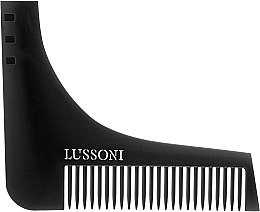 Parfémy, Parfumerie, kosmetika Hřeben na bradu - Lussoni BC 600 Barber Comb