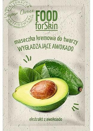 Plaťová maska - Marion Food for Skin Cream Mask Smoothing Avocado