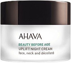 Parfémy, Parfumerie, kosmetika Liftingový noční krém - Ahava Beauty Before Age Uplifting Night Cream For Face, Neck & Decollete