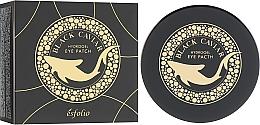 Parfémy, Parfumerie, kosmetika Hydrogelové náplasti pod oči s černým kaviárem - Esfolio Black Caviar Hydrogel Eye Patch