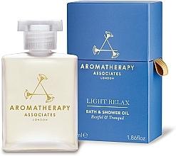 Parfémy, Parfumerie, kosmetika Relaxační olej do koupele a sprchy - Aromatherapy Associates Light Relax Bath & Shower Oil