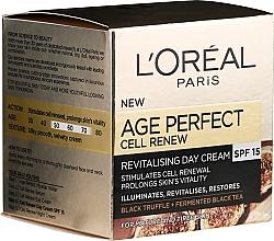 Parfémy, Parfumerie, kosmetika Denní krém na obličej - L'Oreal Paris Age Perfect Cell Revival Day Cream 50+