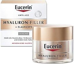 Parfémy, Parfumerie, kosmetika Anti-age noční krém na obličej - Eucerin Hyaluron-Filler + Elasticity Night Cream