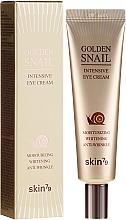Parfémy, Parfumerie, kosmetika Krém proti stárnutí s hlemýžďem a zlatem - Skin79 Golden Snail Intensive Eye