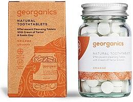 Parfémy, Parfumerie, kosmetika Tablety pro čištění zubů Pomeranč - Georganics Natural Toothtablets Orange