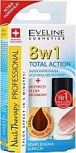 Parfémy, Parfumerie, kosmetika Přípravek na nehty 8v1 - Eveline Cosmetics Nail Therapy