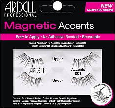 Parfémy, Parfumerie, kosmetika Umělé řasy - Ardell Magnetic Lashes Accents 001