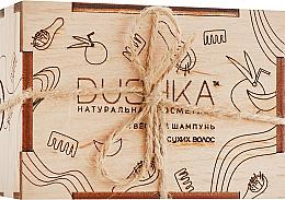 Parfémy, Parfumerie, kosmetika Tvrdý šampon pro suché vlasy - Dushka
