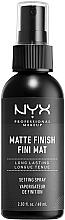 Parfémy, Parfumerie, kosmetika Matující fixační sprej na make-up - NYX Professional Makeup Matte Finish Long Lasting Setting Spray