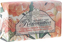 "Parfémy, Parfumerie, kosmetika Mýdlo ""Višeň a bazalka"" - Nesti Dante Romantica Soap"
