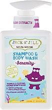 Parfémy, Parfumerie, kosmetika Dětský sprchový gel a šampon 2 v 1 - Jack N' Jill Serenity Shampoo & Body Wash