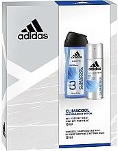 Parfémy, Parfumerie, kosmetika Sada - Adidas Climacool Men (deo/150ml + sh/gel/250ml)