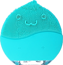 Parfémy, Parfumerie, kosmetika Čisticí kartáč na obličej, BR-030, modrý - Lewer Facial Cleansing Brush Blue