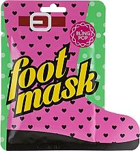 Parfémy, Parfumerie, kosmetika Léčivá maska na nohy s bambuckým máslem - Bling Pop Shea Butter Healing Foot Mask