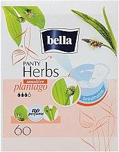 Parfémy, Parfumerie, kosmetika Vložky Panty Herbs Sensetive Plantago, 60ks - Bella