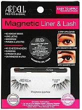 Parfémy, Parfumerie, kosmetika Sada - Magnetic Lash & Liner 002 Lash Kit (eye/liner/2g + lashes/2pc)