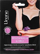 Parfémy, Parfumerie, kosmetika Obnovující maska pro popraskanou kůži na loktech - Lirene Dermo Program