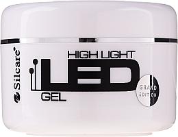 Gel na prodloužení nehtů - Silcare High Light LED Pink — foto N1