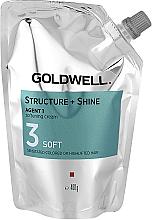 Parfémy, Parfumerie, kosmetika Zjemňující krém pro poškozené vlasy - Goldwell Structure + Shine Agent 1 Soft 3