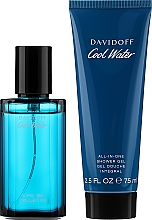 Parfémy, Parfumerie, kosmetika Davidoff Cool Water - Sada (edt/40ml + sh/gel/75ml)