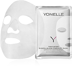 Parfémy, Parfumerie, kosmetika Biocelulózová ochranná maska proti stárnutí - Yonelle Trifusion Biocellulose Endolift Mask