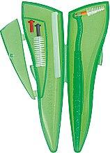 Sada Ortho Pocket Set, zelený - Curaprox (brushes 07,14,18/3pcs + UHS/1pcs + orthod/wax/1pcs + box) — foto N2