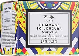 Parfémy, Parfumerie, kosmetika Tělový peeling Citron a marakuja - Baija Gommage So Loucura Citron Passion Fruit Body Scrub
