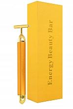 Parfémy, Parfumerie, kosmetika Pulzní masér na obličej - Deni Carte Gold Roller