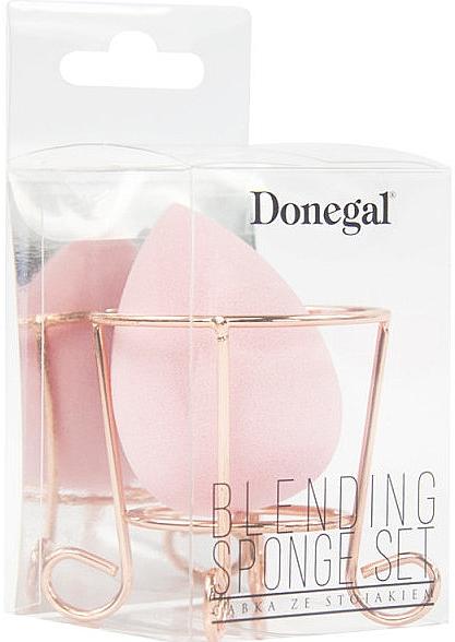 Houbička na make-up, růžová - Donegal