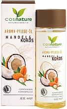 Parfémy, Parfumerie, kosmetika Tělový olej Mandle a kokos - Cosnature Aromatherapy Body Oil Almond & Coconut