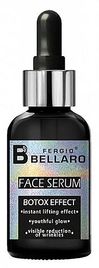 Pleťové sérum s efektem botoxu - Fergio Bellaro Botox Effect Face Serum White