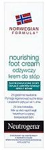Parfémy, Parfumerie, kosmetika Výživný krém na nohy - Neutrogena Nourishing Foot Cream 24H