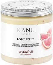 Parfémy, Parfumerie, kosmetika Tělový peeling Grapefruit - Kanu Nature Grapefruit With Cranberry Body Scrub