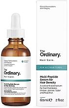 Parfémy, Parfumerie, kosmetika Multi peptidové sérum pro hustotu vlasů - The Ordinary Multi Peptide Serum For Hair Density